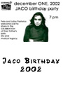 Jaco Birthday, Dec. 1st - Florida